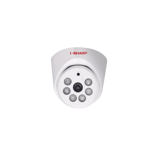 i-SHARP SH-f21-HD, 1.3mp, 2.8mm, Dome Plastic, Night Vision up to 20m