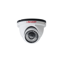 i-SHARP SH-f30-HD1, 1.5mp, 2.8mm, Dome Metal, Night Vision up to 25m