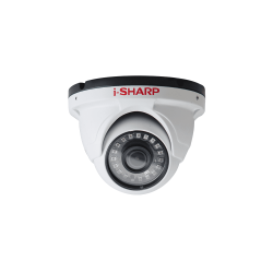 i-SHARP SH-f30-HD2, 2.5mp, 2.8mm, Dome Metal, Night Vision up to 25m