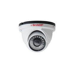 i-SHARP SH-f30-HD4, 4mp, 2.8mm, Dome Metal, Night Vision up to 25m