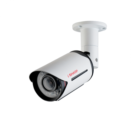 i-SHARP SH-v10-HD4, 4MP, 2.8-12mm, Bullet Metal, Night Vision up to 40m